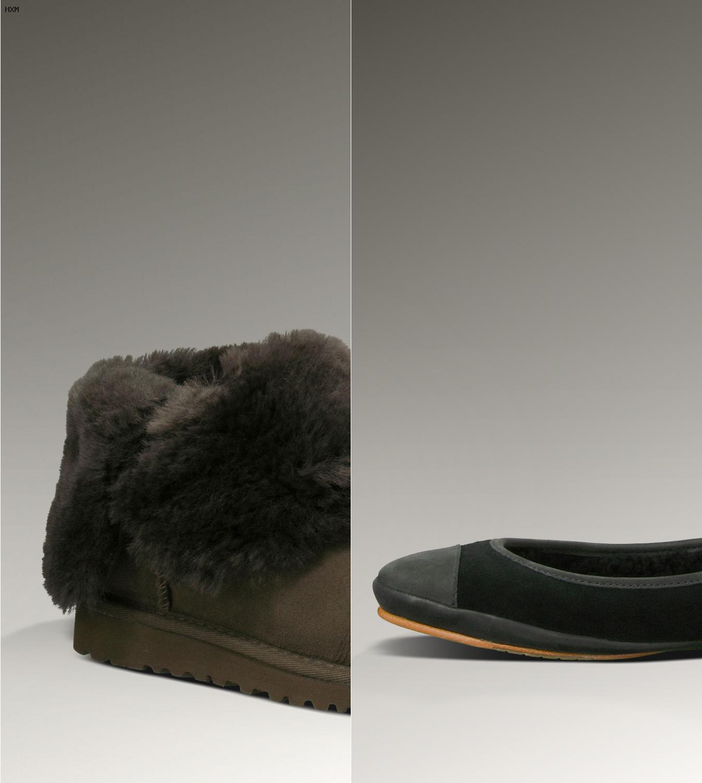 botas ugg negras mujer