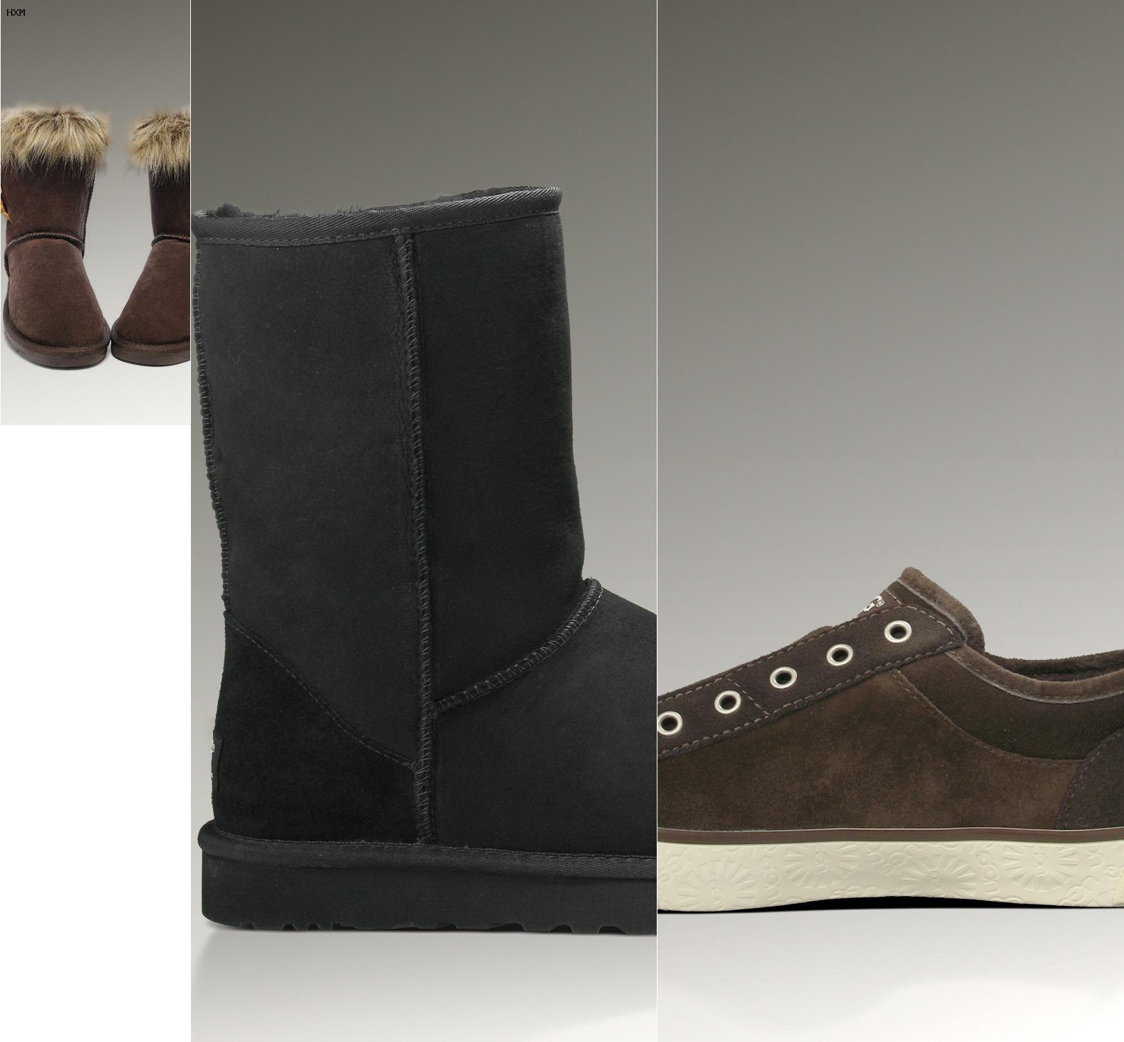hombres con botas ugg