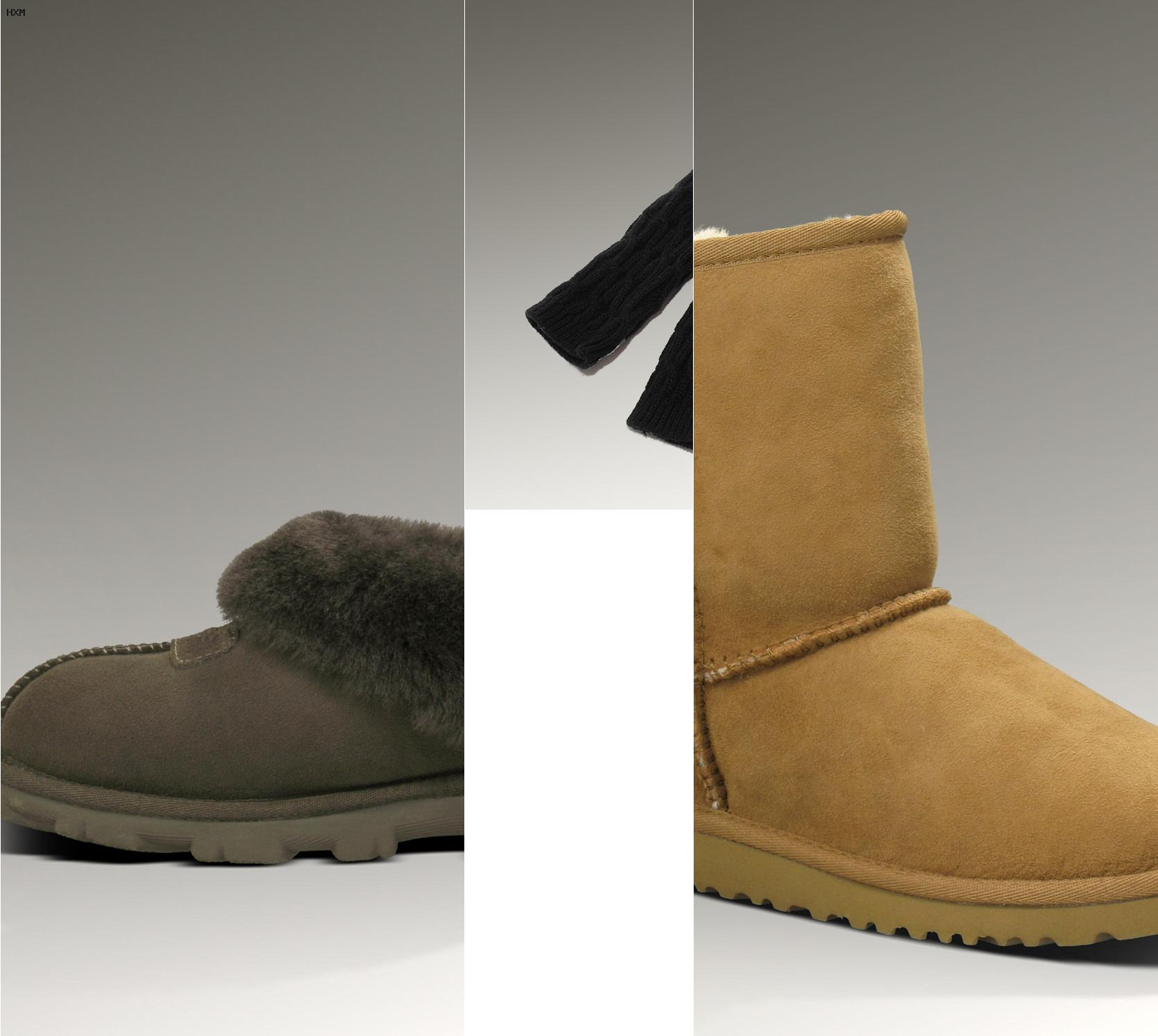 tallas botas ugg